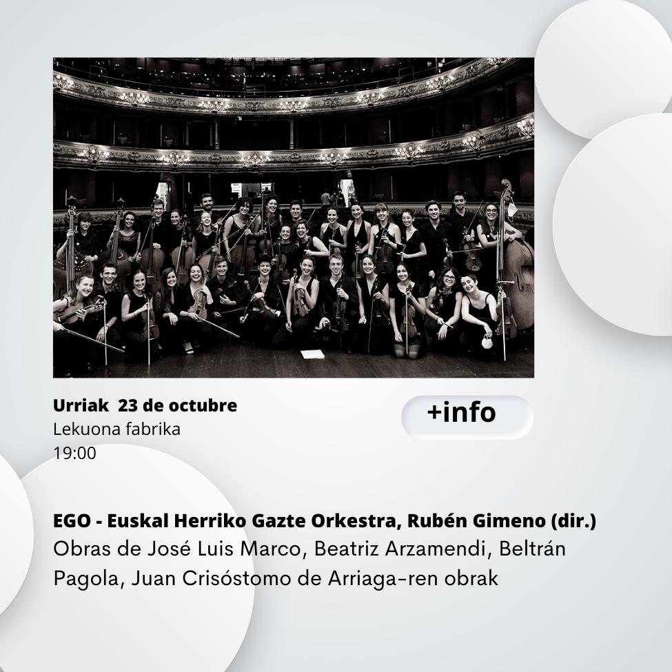 EGO Euskadiko Gazte Orkestra