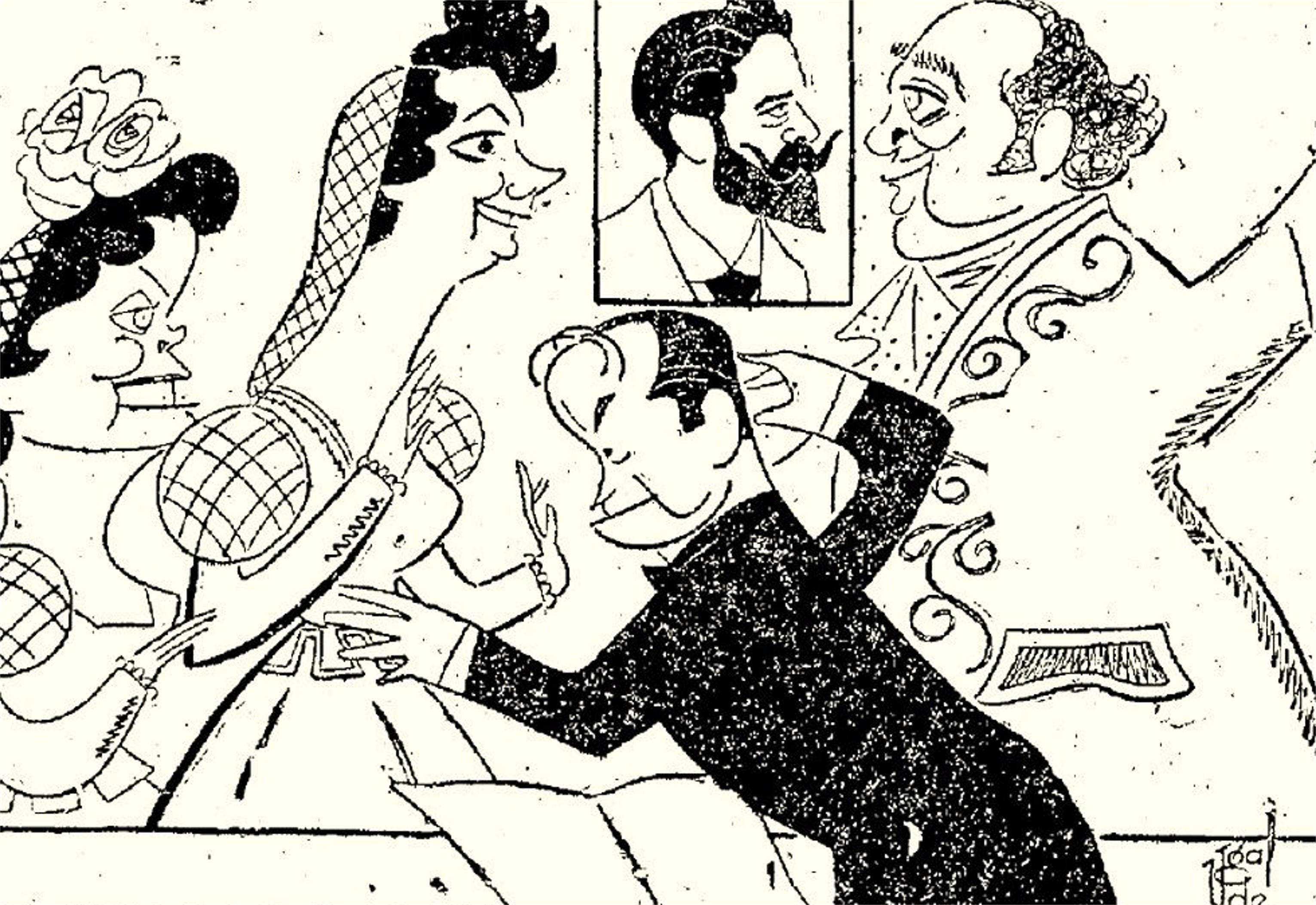San Antonio de La Florida. Estreno, 1954. ABC