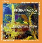 Portada del CD Beltrán Pagola (Pully (Switzerland): Claves Records, p. 2009)
